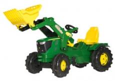 Farmtrac John Deeere 6210R cu incarcator frontal