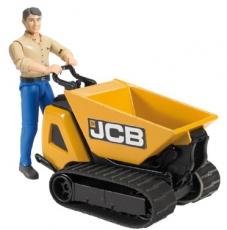 JCB Dumpster HTD-5 cu muncitor