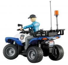 ATV cu politista
