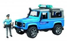 Masina politie Land Rover Defender
