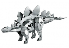 Kit dinosaur din aluminiu - Stegosaurus