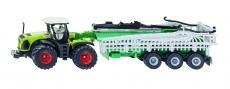 Tractor Claas cu rezervor vid