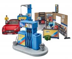 Benzinărie și spălătorie auto